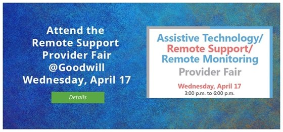 Remote Support Provider Fair April 17