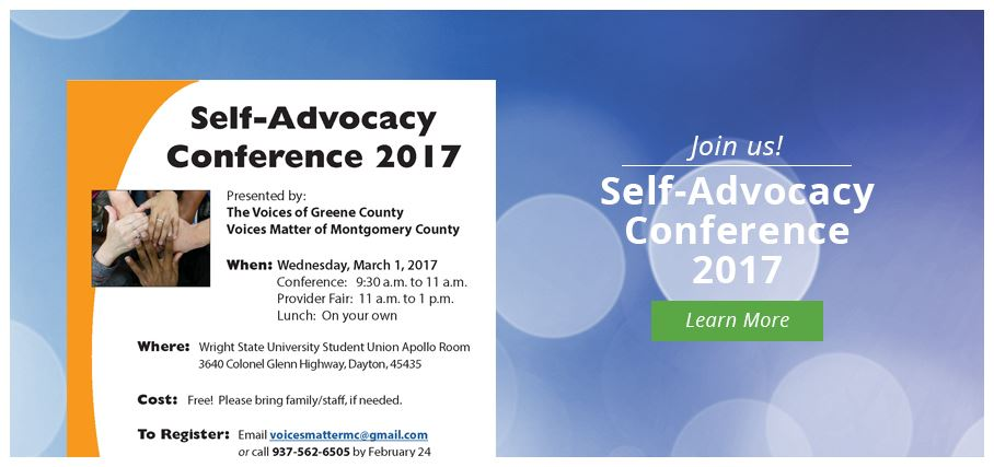 Self-Advocacy Conference 2017
