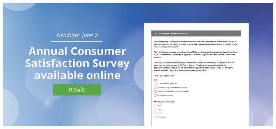 Consumer Satisfaction Survey 2017