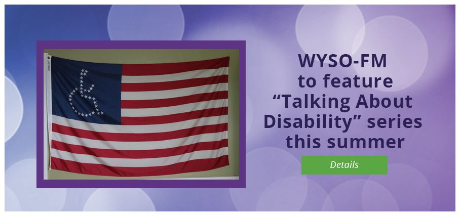 Tune in to WYSO series on disability