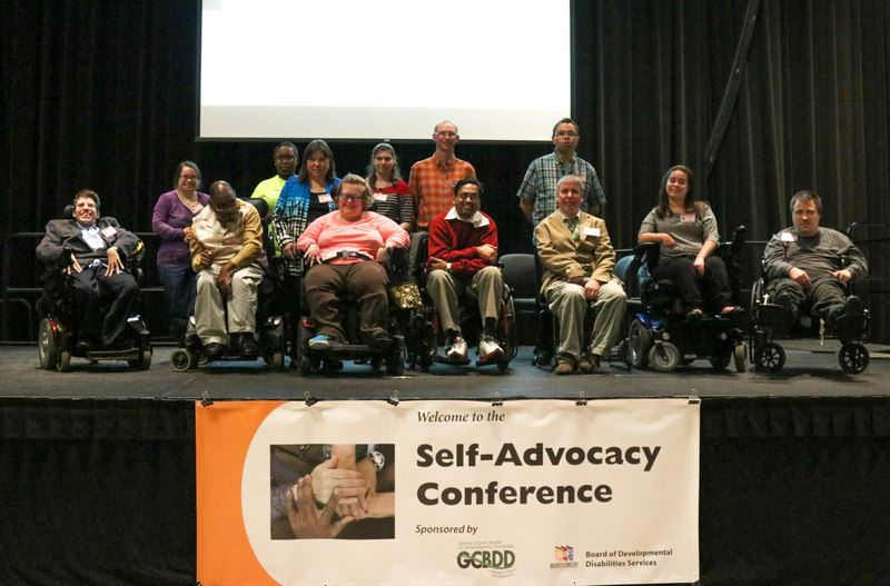 Self-Advocates at Conference
