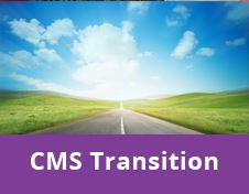 CMS Transition button